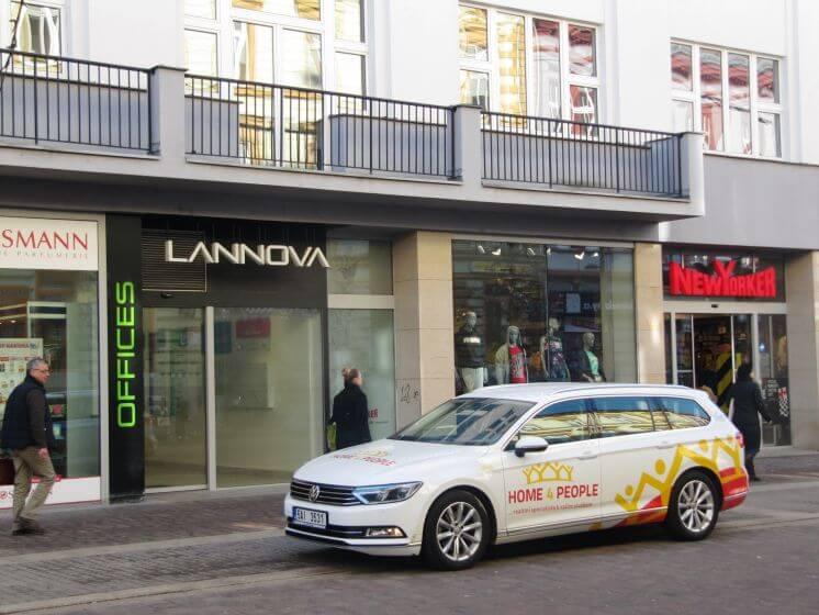 pronájem kanceláře Lannova Office 16 České Budejovice